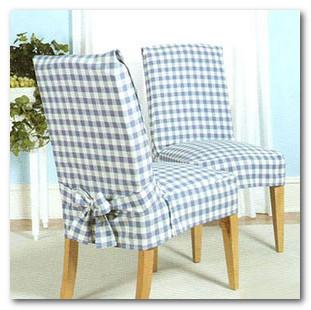 Чехлы на стулья | Как сшить чехлы своими руками