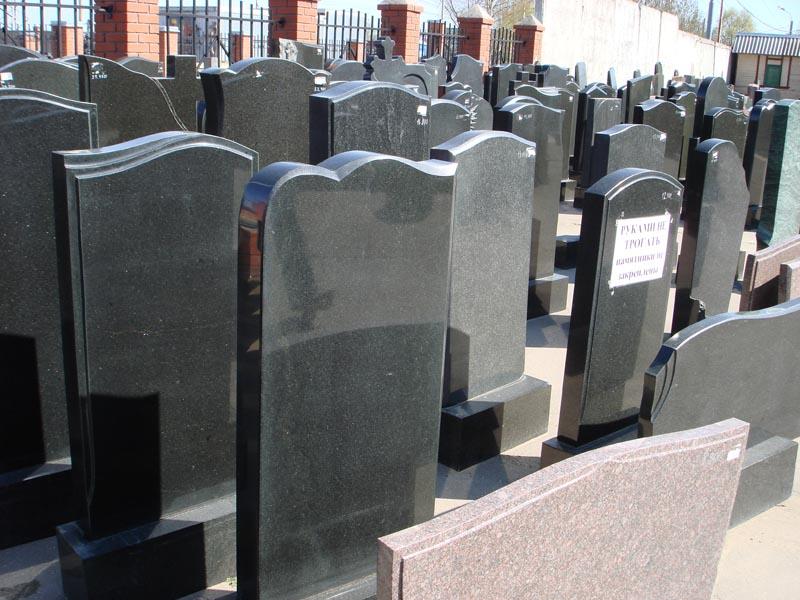 Памятники из гранита изготовление у 2018 кладбище в ленинских горках