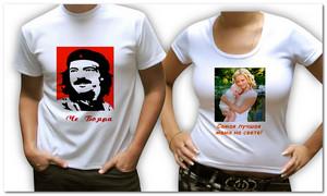 Украшаем футболки эксклюзивными рисунками