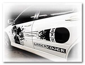 виниловые наклейки на автомобили