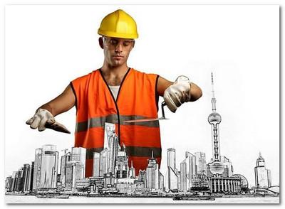 персонал строительной организации