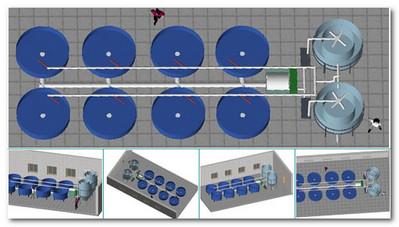 рыбоводный модуль «Осетр»