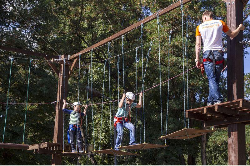 Как открыть веревочный парк?