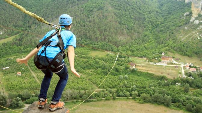 Идея для бизнеса: прыжки с веревкой