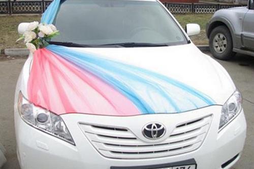 Украшение свадебных автомобилей своими руками