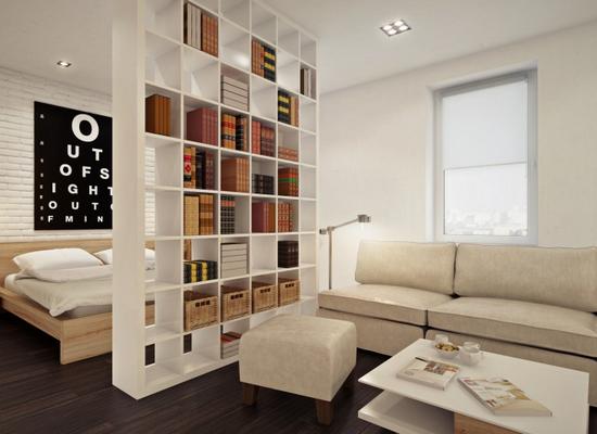 Новый дизайн квартиры студии