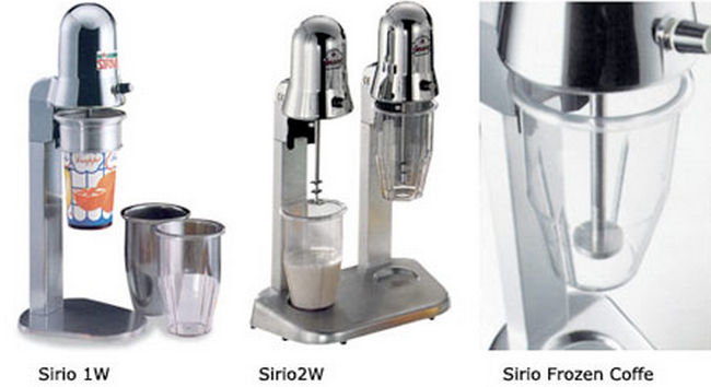 Миксеры для молочных коктейлей Sirio