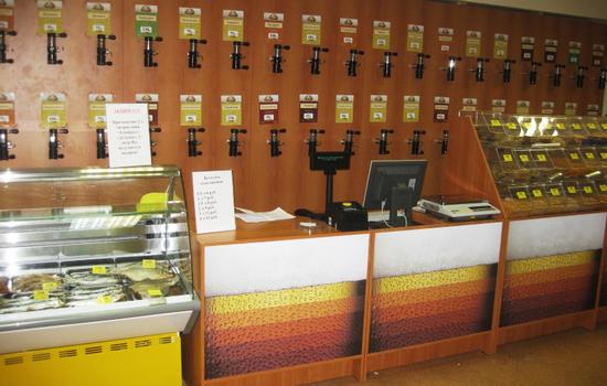 Оформление магазина разливного пива