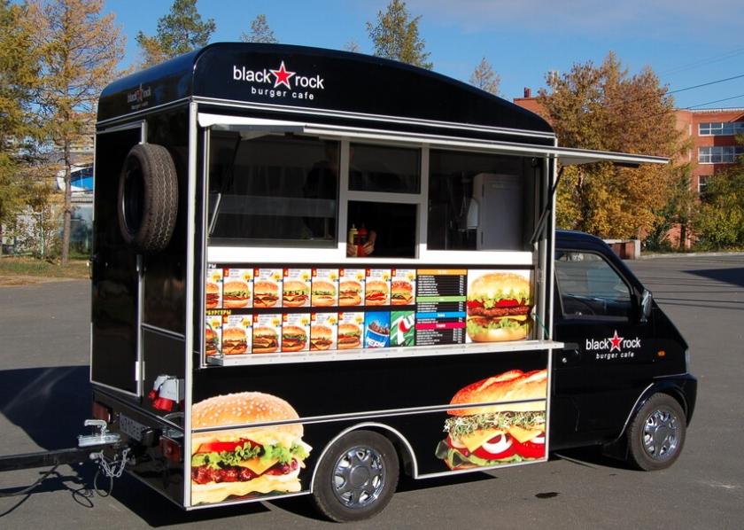 варианты бизнеса с небольшим фургоном