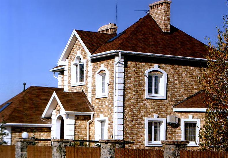 здания из искусственного камня