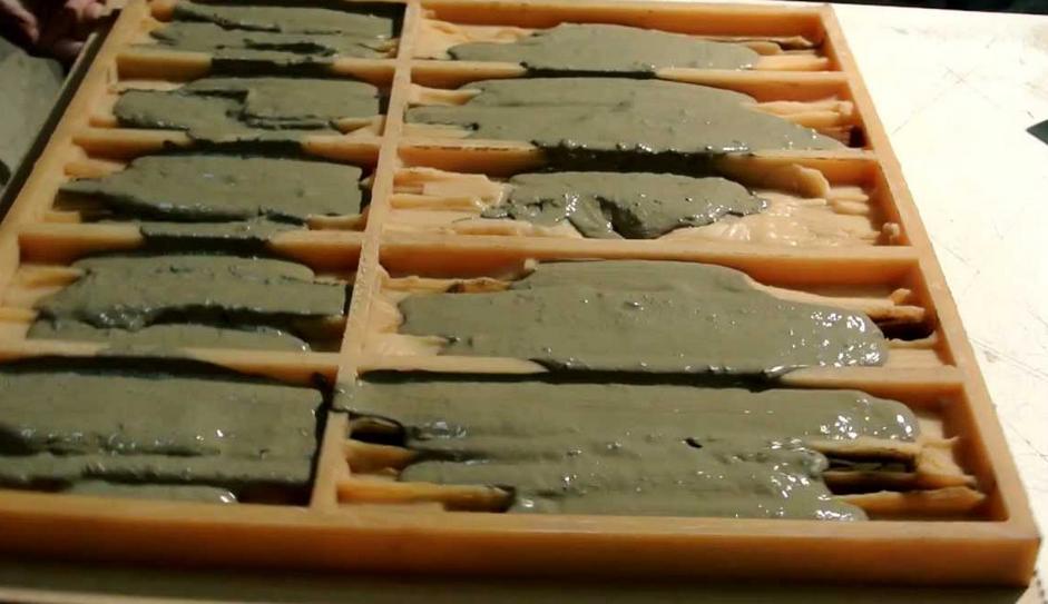 как сделать искусственный камень
