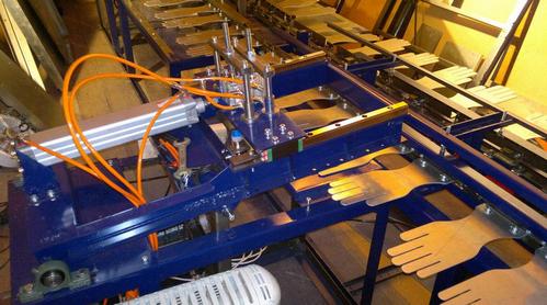 станок для производства хб перчаток