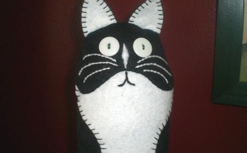игрушка из флиса для кошек