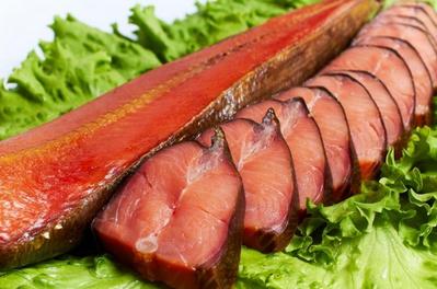 копченая красная рыба