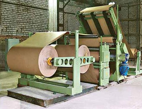 Оборудование для производства двухслойного гофрокартона