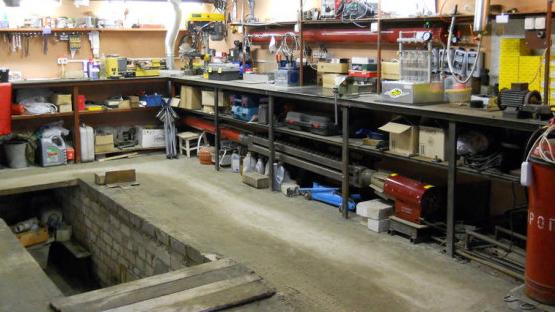 мастерская в своем гараже