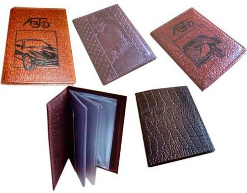 Обложки для документов на заказ