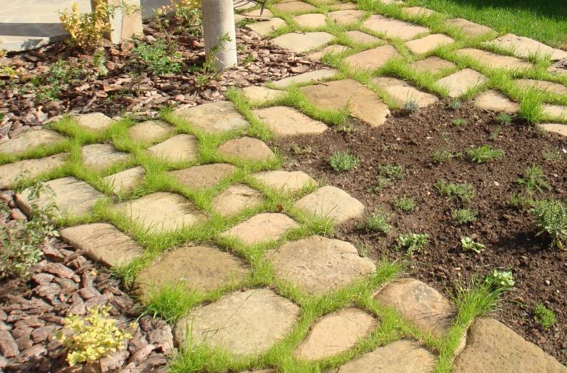 садовые дорожки из песчаника