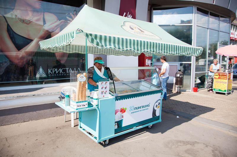 Аренда оборудования по продаже мороженного на развес