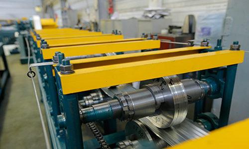 Автоматическая линия для производства металлопрофиля