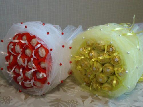 Букеты из конфет что для этого нужно