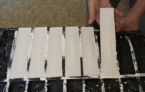 Подготовка форм для плиток