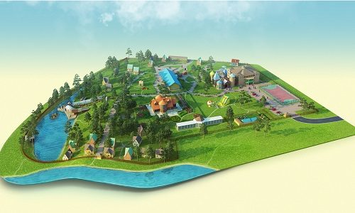 Планировка будущих строений базы