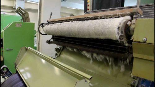 Оборудование для производства ваты