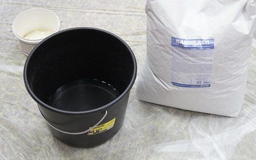 Подготовка качественной гипсовой смеси