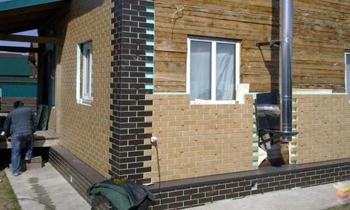 Облицовка дома термопанелями