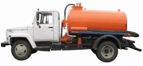 Ассенизаторская машина газ