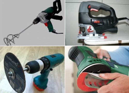 Инструменты для изготовления гипсовых изделий
