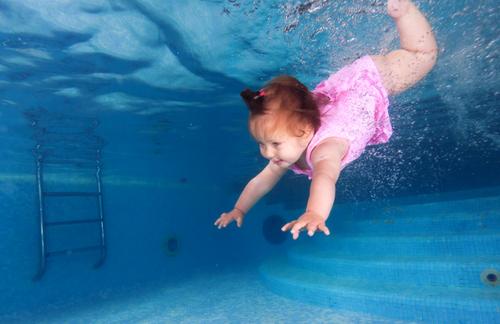 Открытие детского бассейна