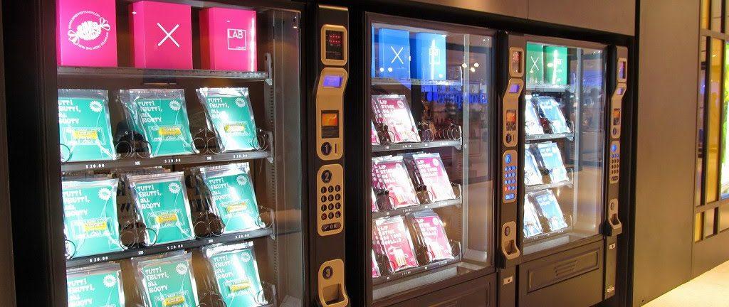Бизнес идея — автомат, продающий женские колготки
