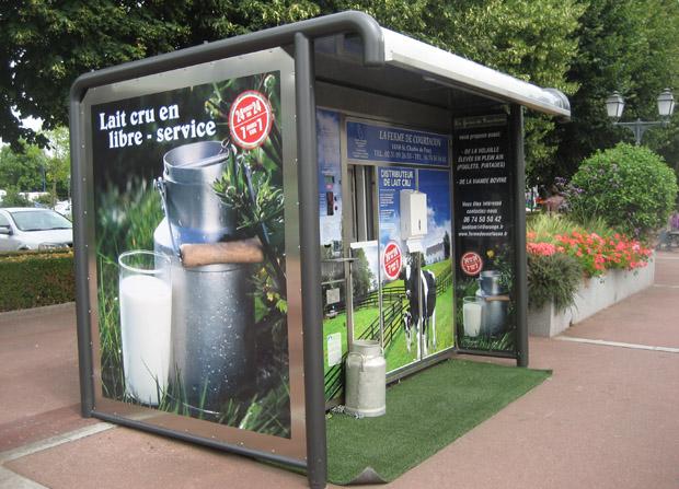 Milk Dispenser inhabitat - Бизнес-идея – продажа молока через молокомат