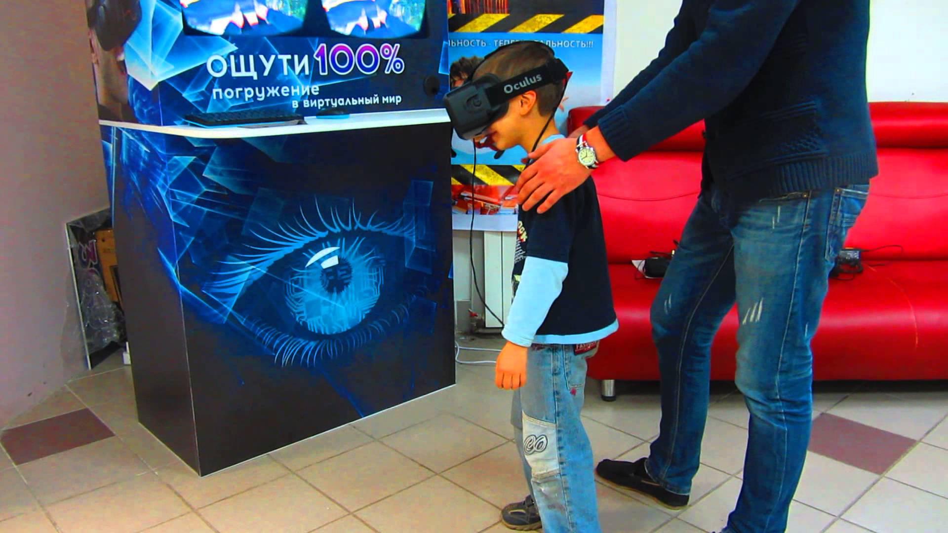 Аттракцион виртуальной реальности – доходный бизнес вне сезона