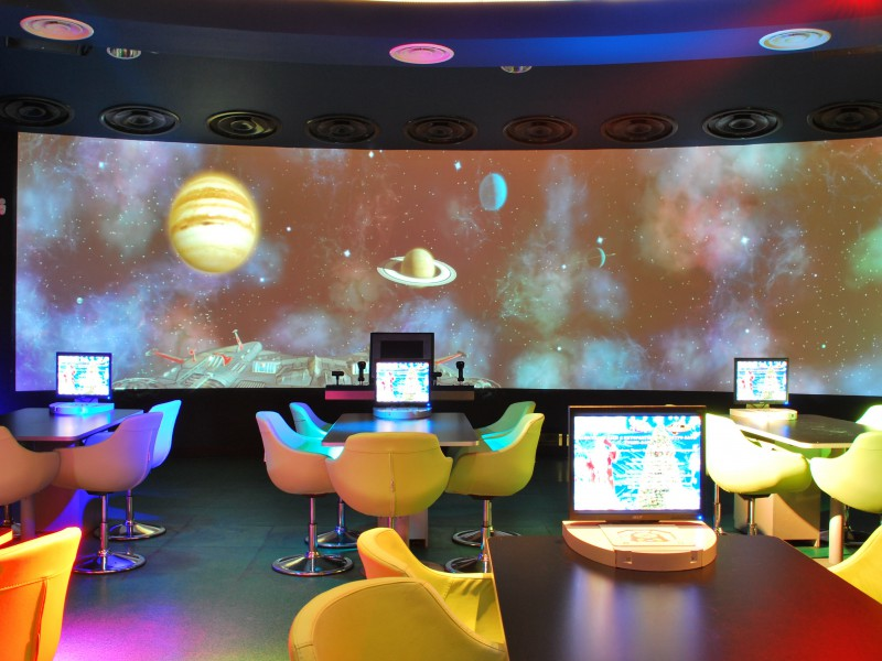 Бизнес на создании интерактивного кафе (мультимедиа центра)