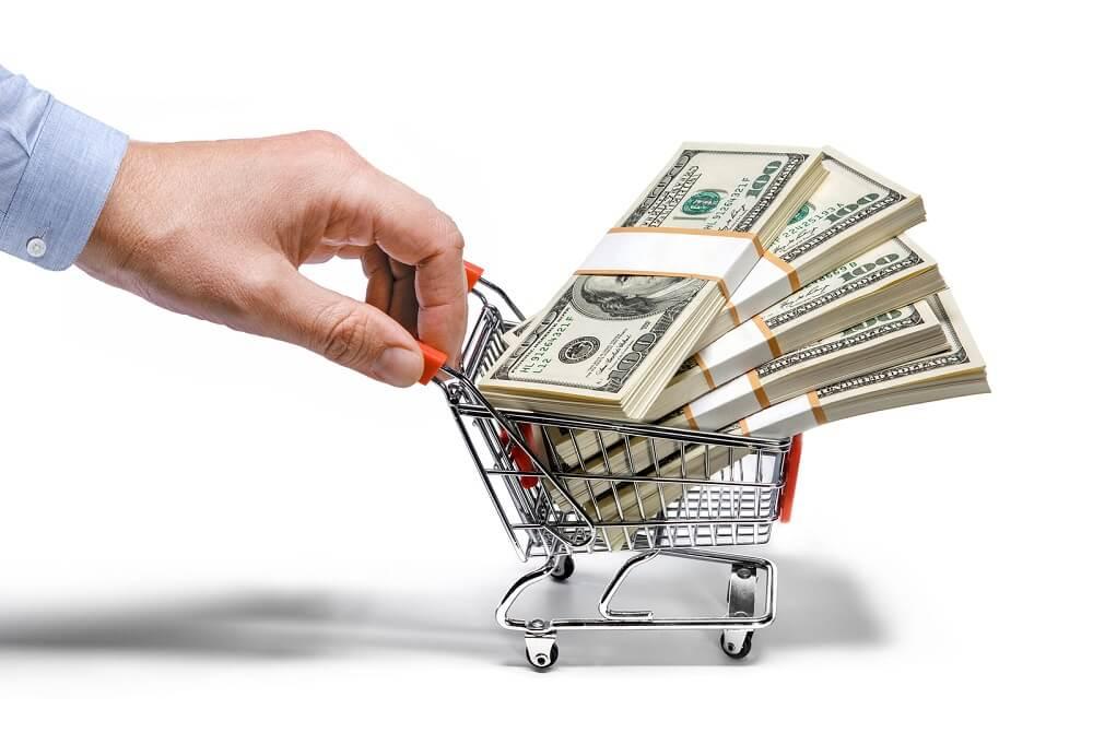 Деньги для закупки товаров