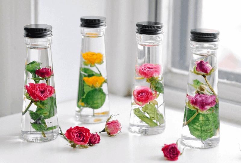 Цветы в глицерине: простой доходный бизнес