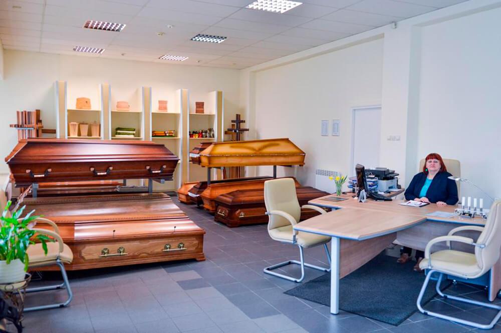 Оборудование для похоронного бюро
