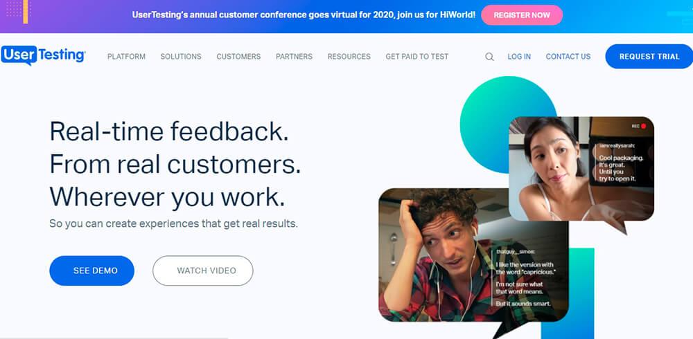 Ресурс Usertesting