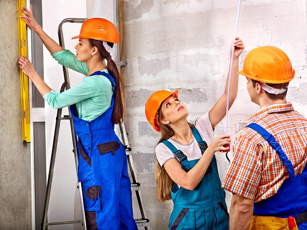 Рабочие для ремонта