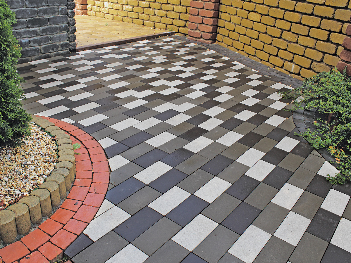Этапы изготовления тротуарной плитки